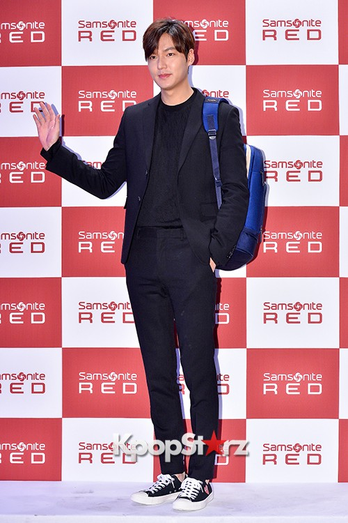 Lee Min Ho at Samsonite Red Talk Event key=>5 count27