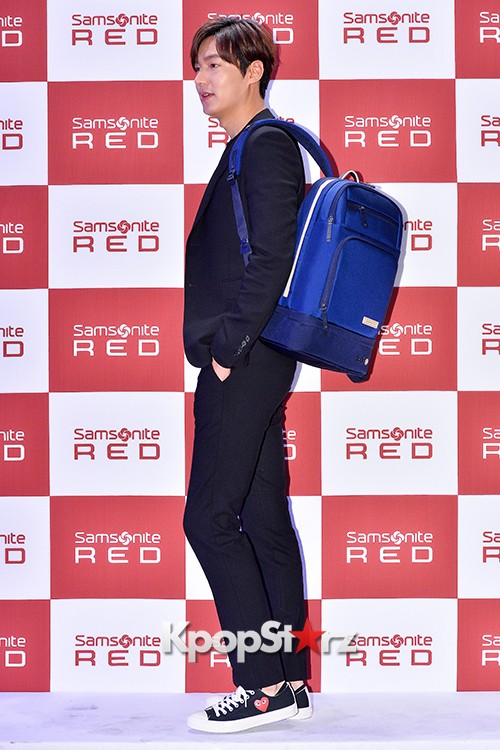 Lee Min Ho at Samsonite Red Talk Event key=>6 count27