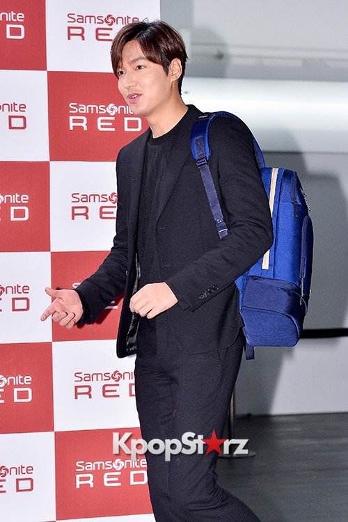 Lee Min Ho at Samsonite Red Talk Event key=>7 count27