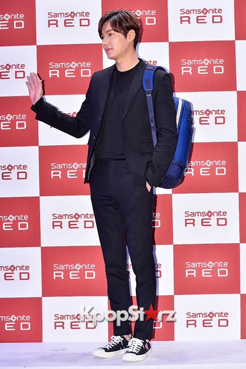 Lee Min Ho at Samsonite Red Talk Event key=>8 count27
