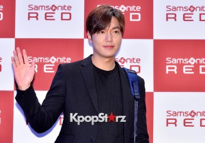 Lee Min Ho at Samsonite Red Talk Event