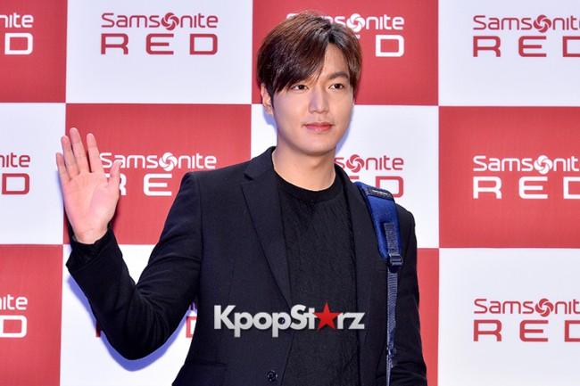 Lee Min Ho at Samsonite Red Talk Event key=>0 count27