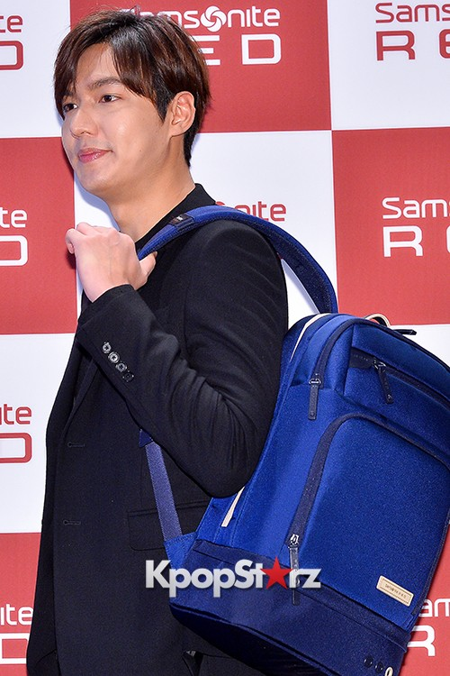 Lee Min Ho at Samsonite Red Talk Event key=>9 count27