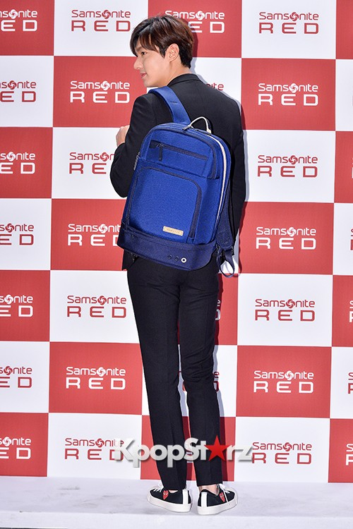 Lee Min Ho at Samsonite Red Talk Event key=>10 count27