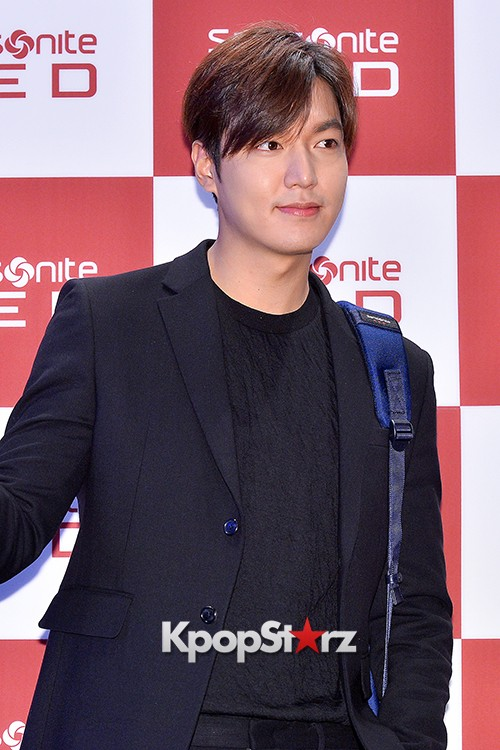 Lee Min Ho at Samsonite Red Talk Event key=>11 count27