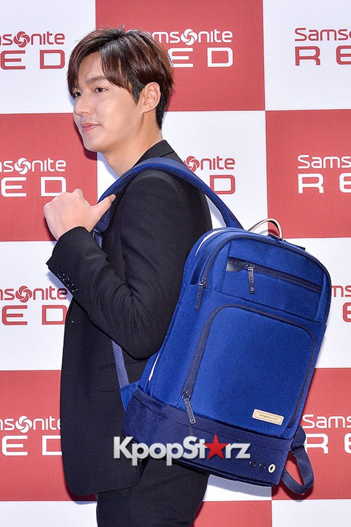 Lee Min Ho at Samsonite Red Talk Event key=>12 count27