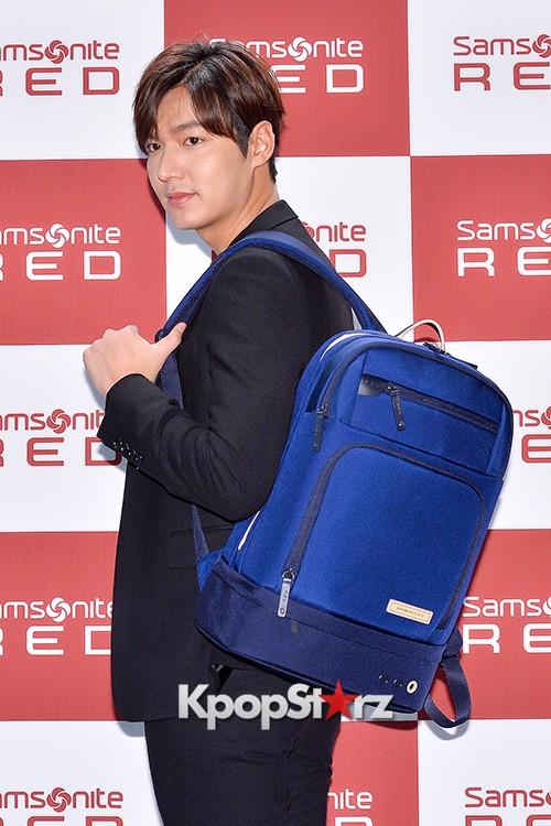Lee Min Ho at Samsonite Red Talk Event key=>13 count27