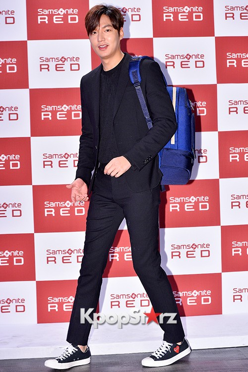 Lee Min Ho at Samsonite Red Talk Event key=>14 count27