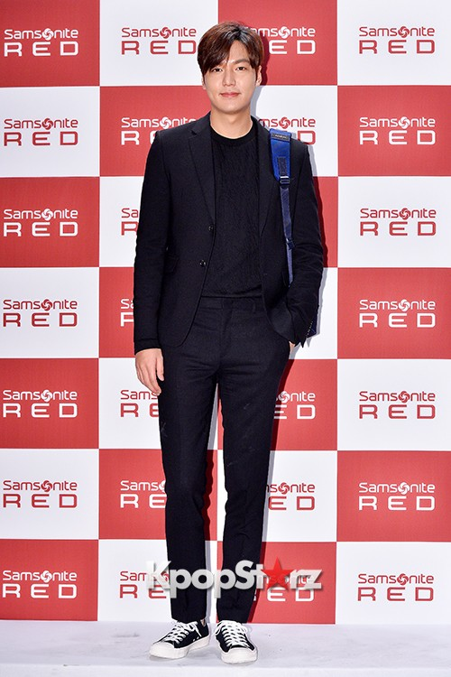Lee Min Ho at Samsonite Red Talk Event key=>15 count27