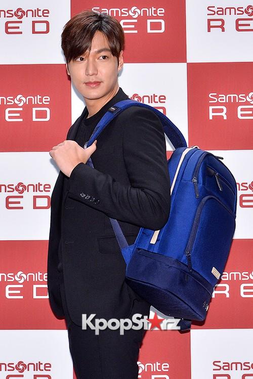 Lee Min Ho at Samsonite Red Talk Event key=>16 count27