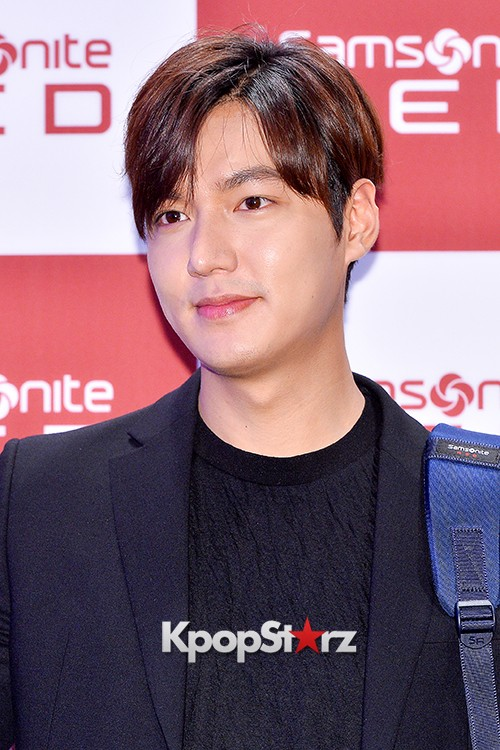 Lee Min Ho at Samsonite Red Talk Event key=>17 count27