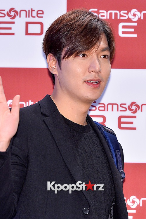 Lee Min Ho at Samsonite Red Talk Event key=>18 count27