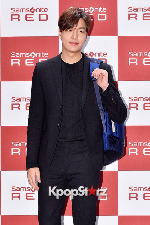 Lee Min Ho at Samsonite Red Talk Event key=>19 count27