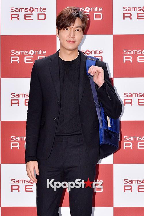 Lee Min Ho at Samsonite Red Talk Event key=>19 count27