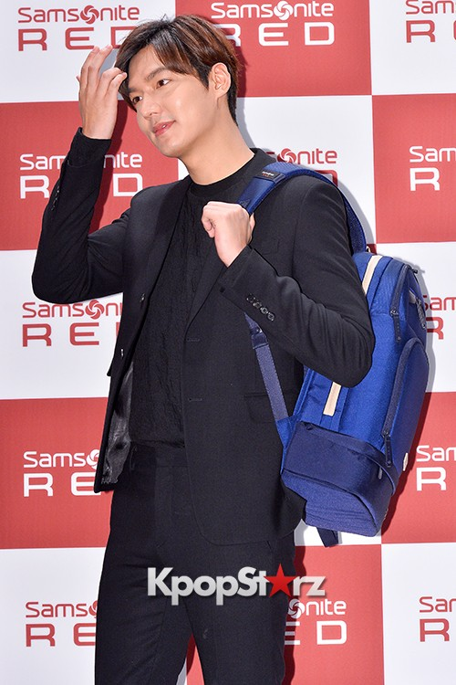 Lee Min Ho at Samsonite Red Talk Event key=>20 count27