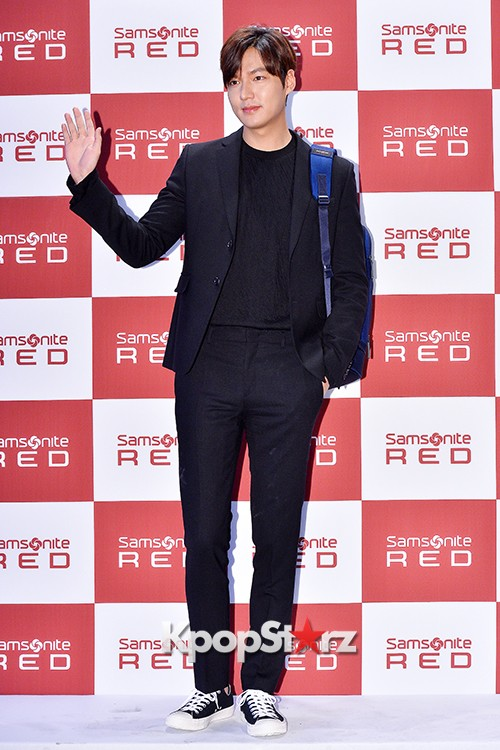 Lee Min Ho at Samsonite Red Talk Event key=>21 count27