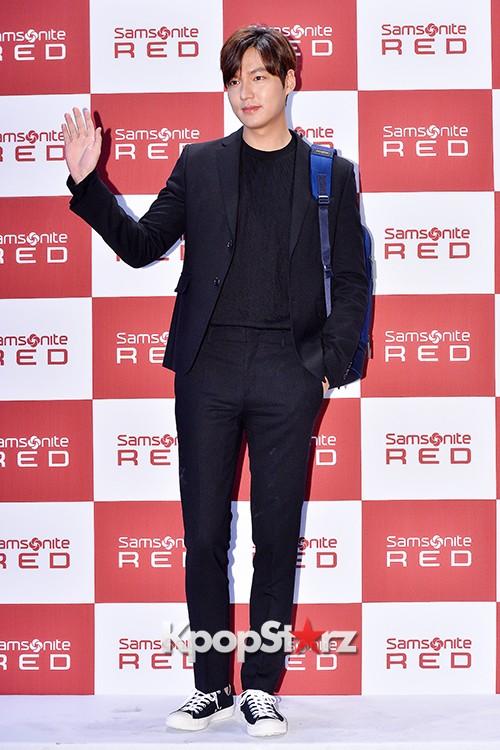 Lee Min Ho at Samsonite Red Talk Event key=>21 count27