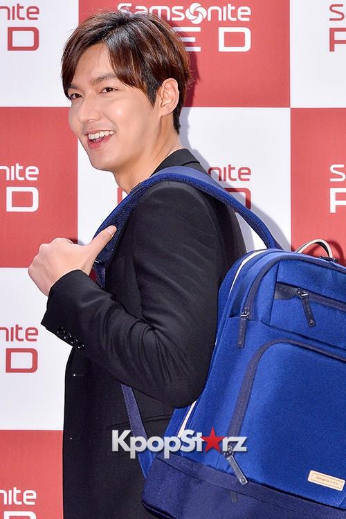 Lee Min Ho at Samsonite Red Talk Event key=>22 count27