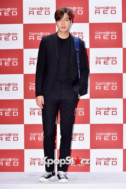 Lee Min Ho at Samsonite Red Talk Event key=>23 count27