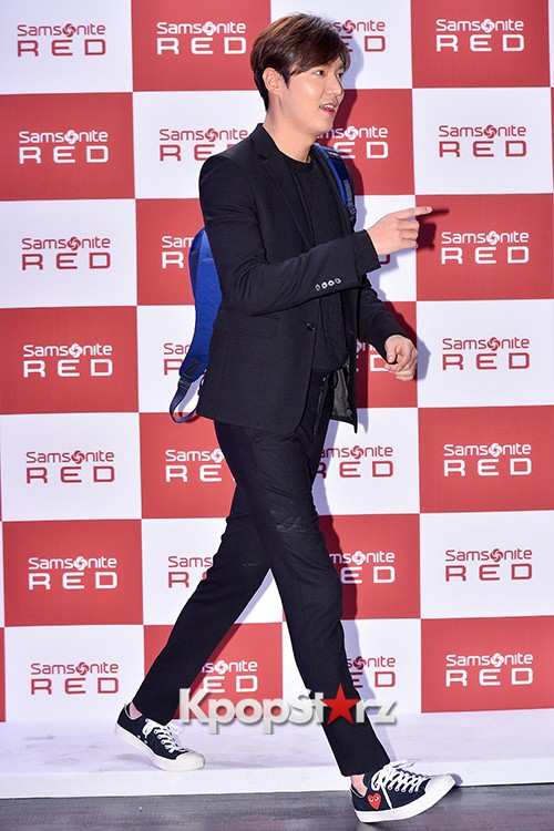 Lee Min Ho at Samsonite Red Talk Event key=>25 count27