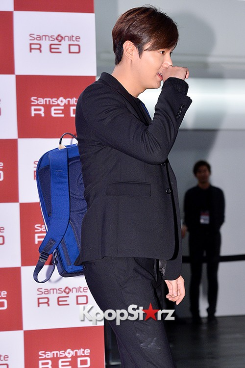 Lee Min Ho at Samsonite Red Talk Event key=>26 count27