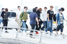SHINee at Incheon Airport, leaving for SMTOWN Live Tour3 in Jakarta