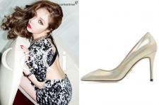4Minute HyunA Ceci March 2015 Fashion Jinny Kim Heels