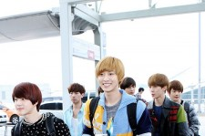 EXO-K at Incheon Airport, leaving for SMTOWN Live Tour3 in Jakarta