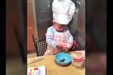This Adorable Toddler Chef Cracks An Egg Better Than Most Adults