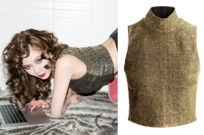 Kim HyunA Ceci March 2015 Issue Magazine H&M Top