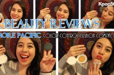 K-beauty review of Amore Pacific CC Cushion Compact