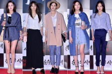 Nam Gyuri, Soo Hyun, Oh Yeon Seo, Jung So Min and Hwang Woo Seul Hye Attend a VIP Premiere of Upcoming Film 'Age of Innocence'