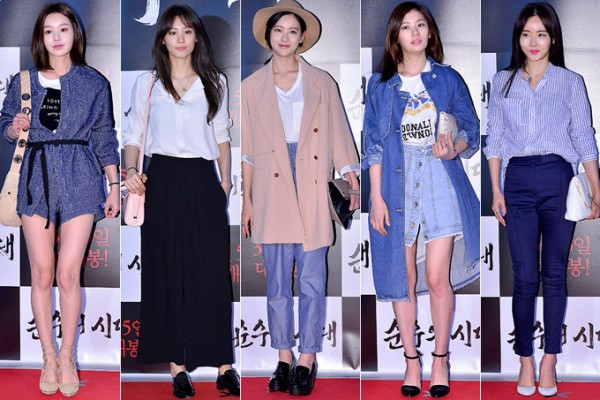 Nam Gyuri, Soo Hyun, Oh Yeon Seo, Jung So Min and Hwang Woo Seul Hye Attend a VIP Premiere of Upcoming Film 'Age of Innocence' key=>0 count54
