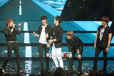 FTISLAND Takes 1st Place with 'I Wish' on 'M! Countdown' on September 20, 2012