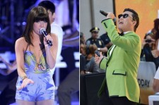Carly Rae Jepson and Psy