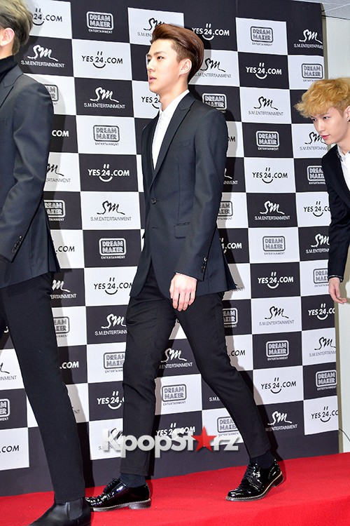 EXO at EXO PLANET #2 - The EXO'luXion Press Conference key=>7 count40