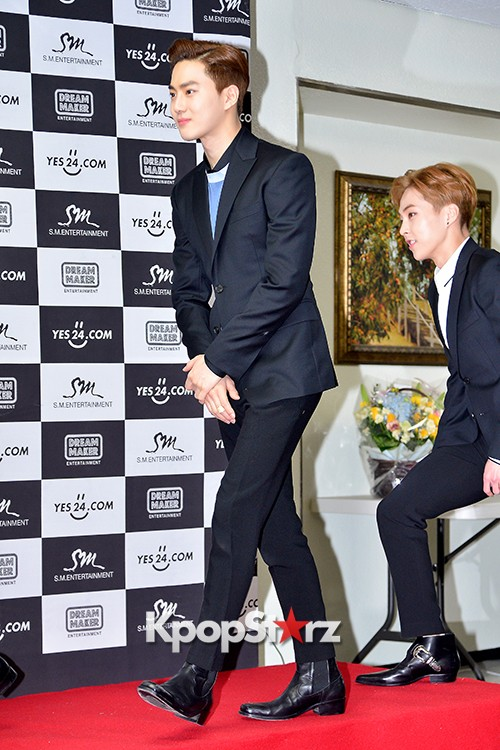EXO at EXO PLANET #2 - The EXO'luXion Press Conference key=>8 count40