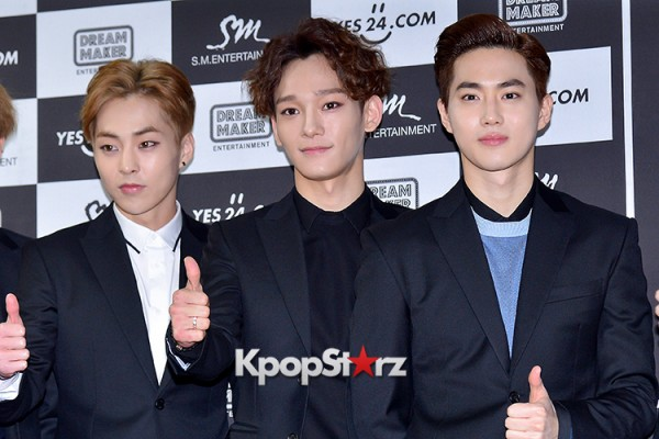 EXO at EXO PLANET #2 - The EXO'luXion Press Conference key=>16 count40