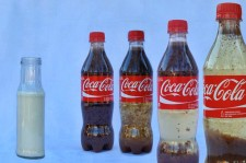 Shocking Coca Cola And Milk Experiment