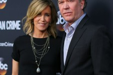 Felicity Huffman and actor Timothy Hutton attend the premiere of ABC's 'American Crime' held at the Ace Hotel on February 28, 2015 in Los Angeles