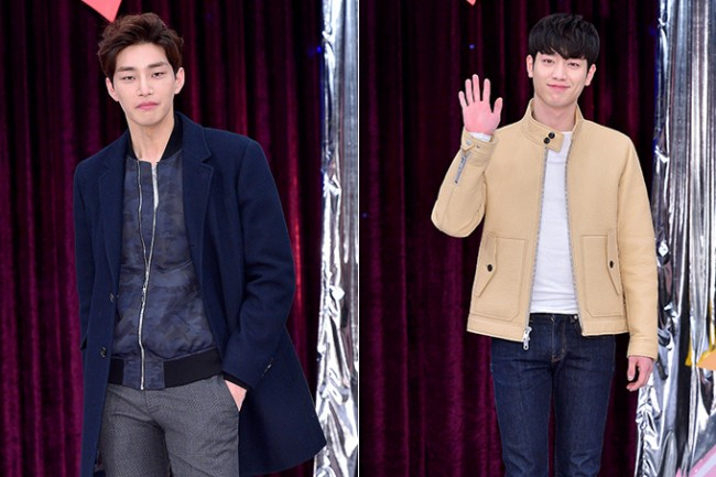 Kim Jae Young and Seo Kang Joon at a Press Conference of MBC Every1 'Match Made in Heaven Returns'key=>0 count14