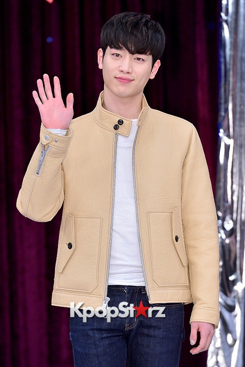 Kim Jae Young and Seo Kang Joon at a Press Conference of MBC Every1 'Match Made in Heaven Returns'key=>6 count14
