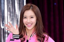 Crayon Pop's Ellin at a Press Conference of MBC Every1 'Match Made in Heaven Returns'
