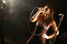 Rule Destroyer's Chae Song Hwa, seen here singing with Midnight Smokin' Drive.