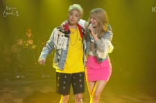 Amber and Ailee Uptown Funk