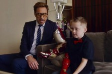 Here's Your Aww Video For The Day: Iron Man Delivers Bionic Arm To A Boy With A Missing Limb