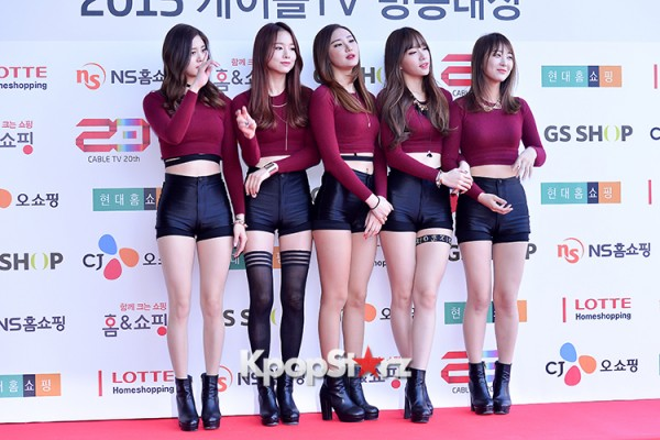 EXID at Cable TV Broadcast Awards Red Carpetkey=>9 count20