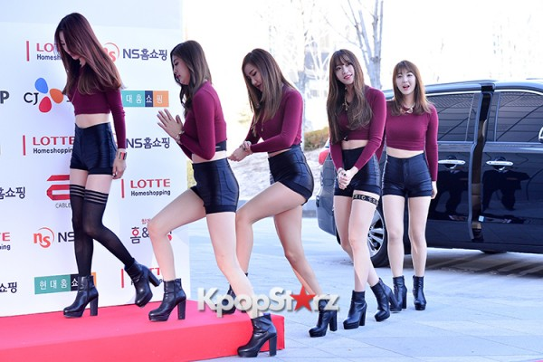 EXID at Cable TV Broadcast Awards Red Carpetkey=>10 count20