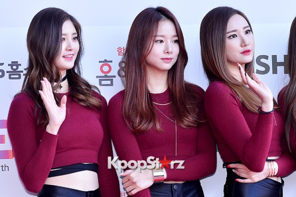 EXID at Cable TV Broadcast Awards Red Carpetkey=>11 count20