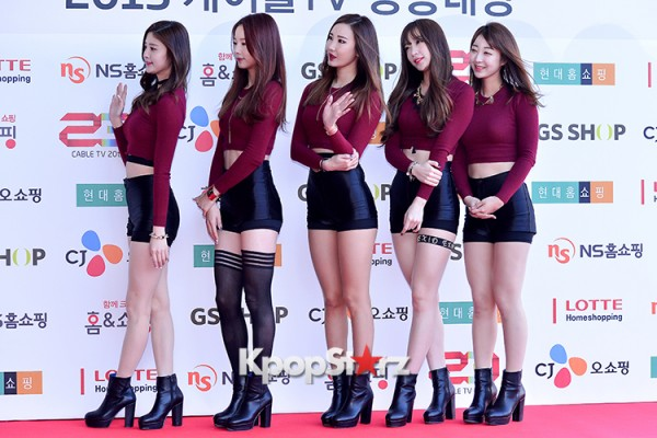 EXID at Cable TV Broadcast Awards Red Carpetkey=>13 count20